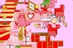 Barbie House Decoration game free online