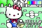 Hello Kitty Coloring game free online