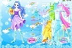 Aquarius Zodiac Dress up game free online