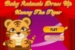 Baby Tiger Dress up game free online