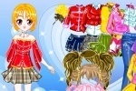 Jenny Doll Princess Dress Up game free online