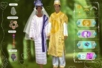 African Wedding Dressup