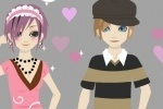 Couple Date Styles Dressup game free online