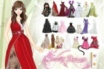 Girl In Fancy Dresses Dress Up game free online