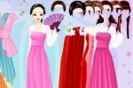 Gown and Robe Dressup game free online