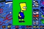 Bart Simpson Dress Up game free online