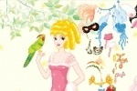 Parrot Princess Girl Dress Up game free online
