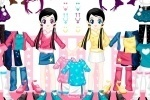 Little Twin Dress up game free online