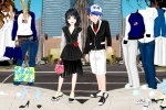 City couple Dress Up game free online