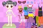 Adorable Cute Doll Dress Up game free online