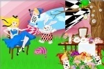 Alice In Wonderland Decoration game free online
