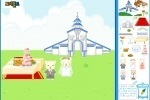 Animal Castle Decoration game free online
