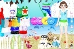 Savannah With Animals At The Beach Dress Up game free online
