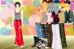 Hunk Dress Up game free online