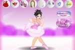 Ballerina Chic Dress Up game free online