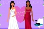 Bridesmaid Wedding Dress Up