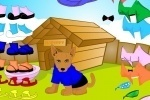 Brown Puppy Dressup game free online