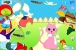 Mrs Pink Cat Dress Up game free online