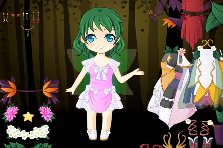Forrest Fairy Dressup Game