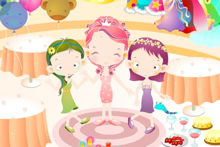 Birthday Party Decorate Game