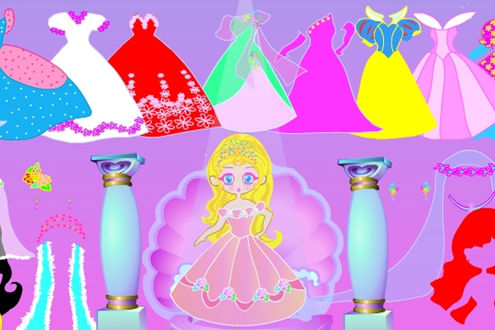Wedding Doll Dress Up Game