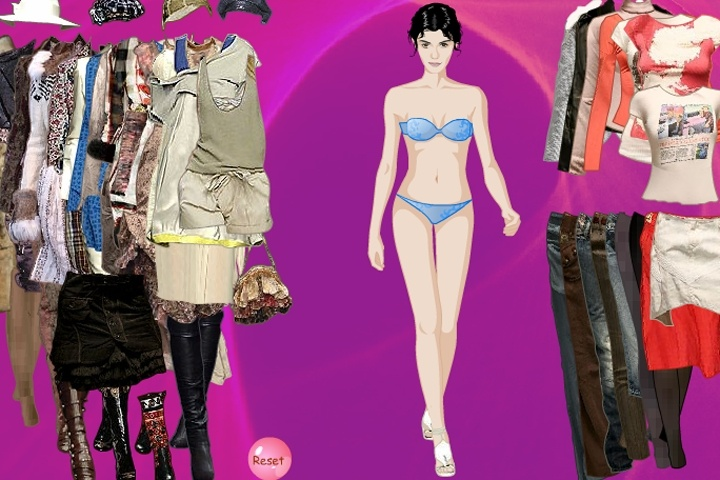 Andrey Tautou Dress Up Game