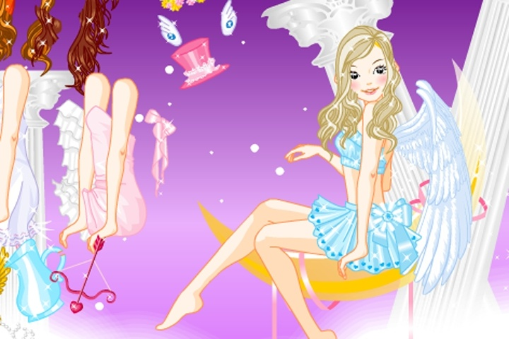 Magical Angel Dress Up Game