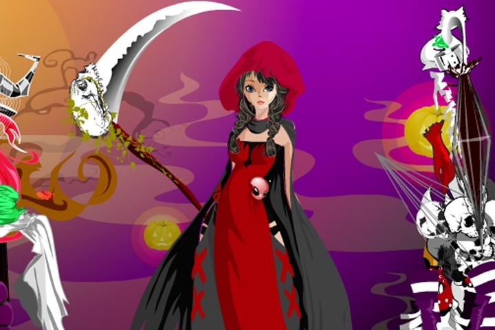 Special Halloween Dresses Game