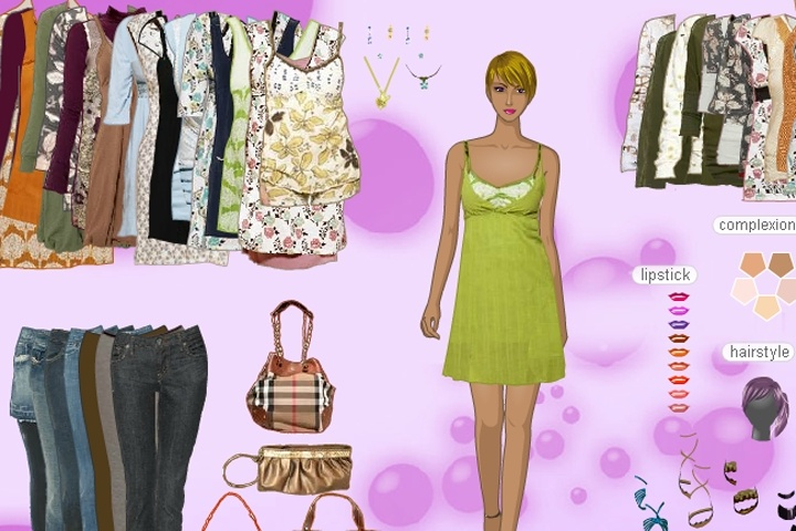 High Quality Fashion Dress up Game
