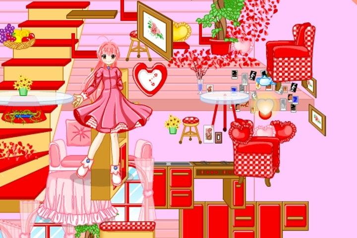 Barbie House Decoration Game