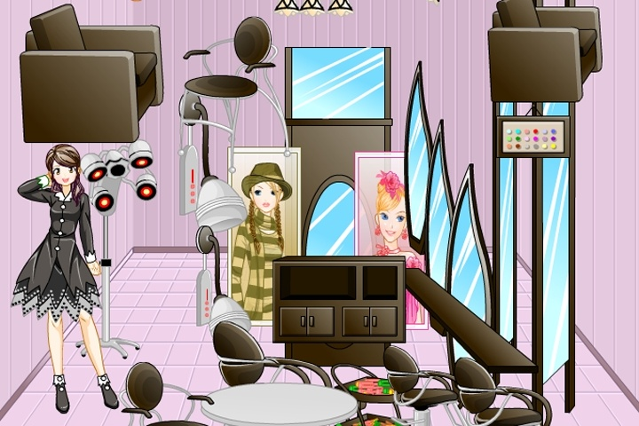 Hairdresser Decorator Game