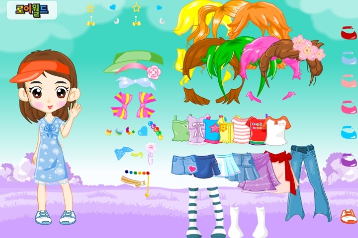 Adorable Kid Dress Up Game