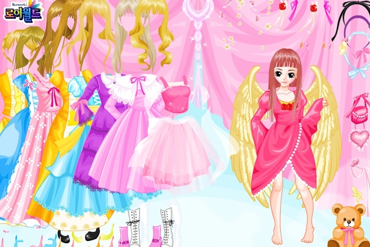 Angel Doll Dressup Game