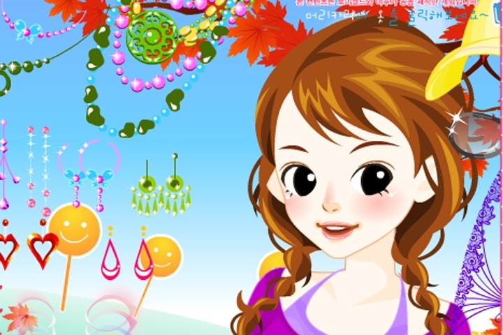 Adorable Young Girl Makeover Game