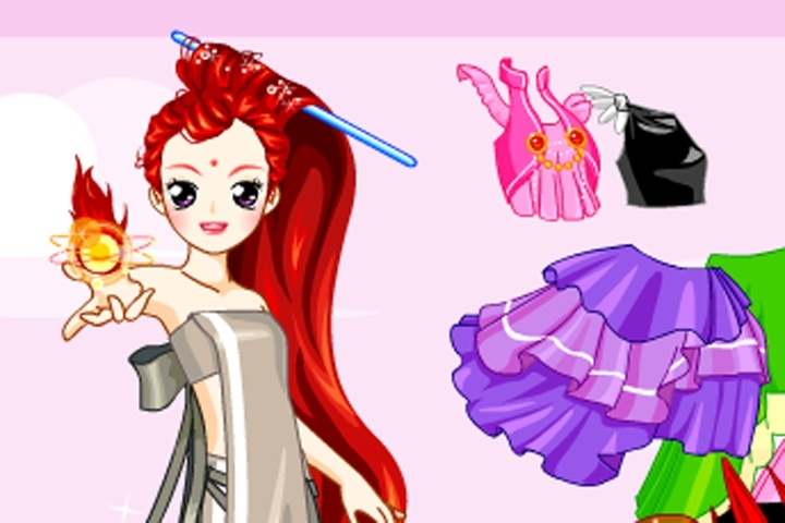 Fairy Tale Princess Dressup Game
