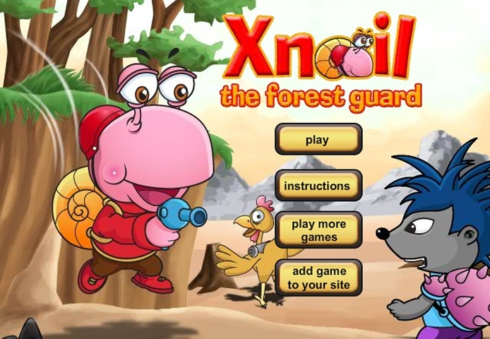Xnail The Forest Guard Game