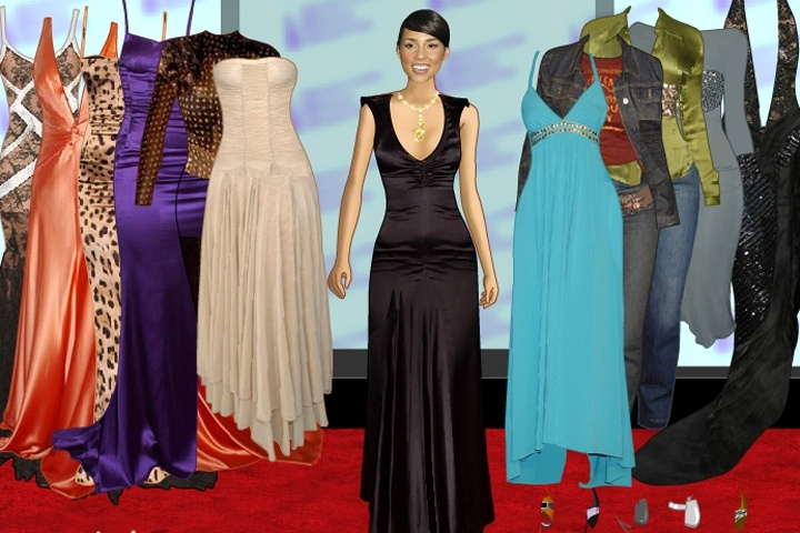 Alicia Keys Dress Up Game