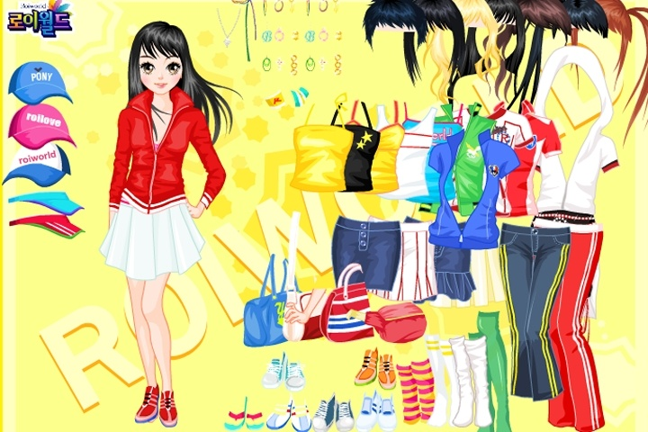 2008 Beijing Olympic dress up Game
