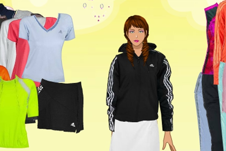 Adidas Clothing Dressup Game