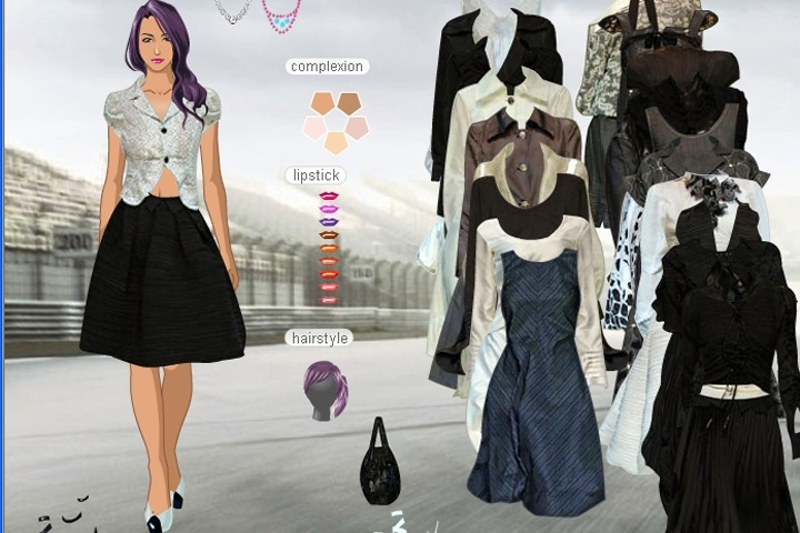 Anyoonjung Ans Spring 2007 Dress Up Game