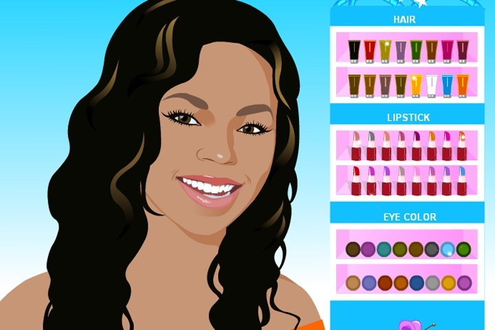 Ashanti Makeover Game Game