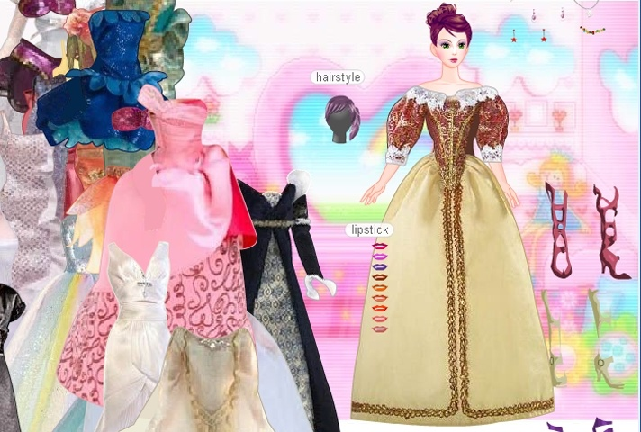 Barbie In Gowns 2 Game