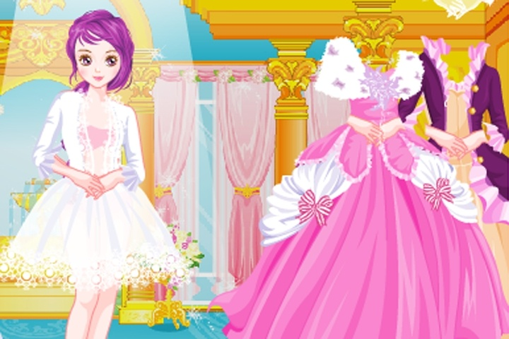 Charlotte Princess Dress Up Game
