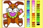 Easter Bunny Coloring Game game free online