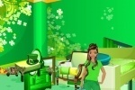St Patrick's Day Room Decor game free online
