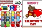 Valentine's Day Coloring game free online