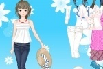Spring Hats Dress Up game free online
