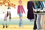 Barbie Autumn Dressup game free online