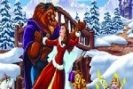 Belle And The Beast Christmas Jigsaw Puzzle game free online