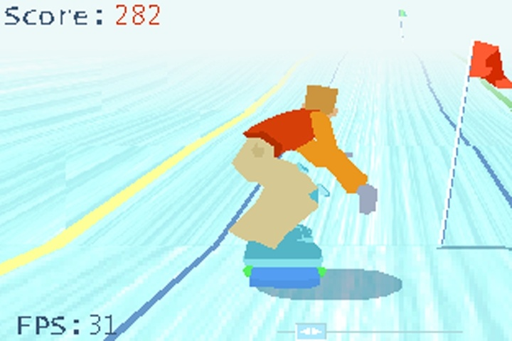 Titoonic Snowboard Game